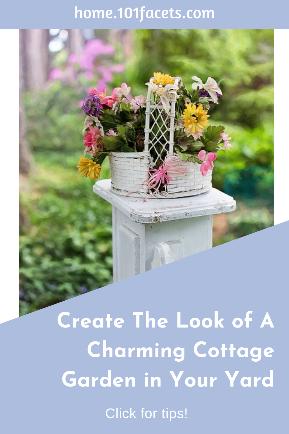 Create The Look of A Charming Cottage Garden in Your Yard