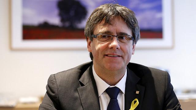"""Puigdemont: """"Es una vergüenza para Europa tener presos políticos"""""""