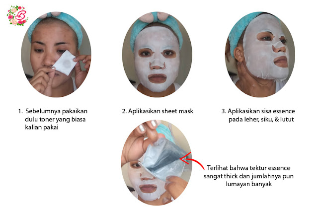 How to apply sheet mask