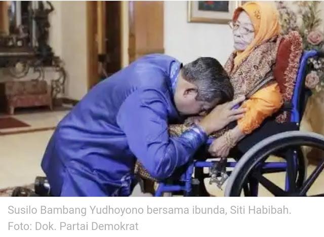 Ibunda SBY ,Wafat