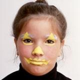Pumpkin Face - Step 1