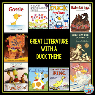 If you're gearing up for Easter, give these Duck themed titles a try. Drop in on Comprehension Connection for activities too.
