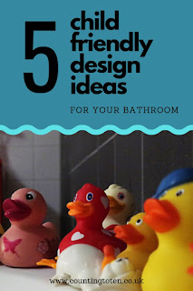 5 Child friendly design ideas for your bathroom