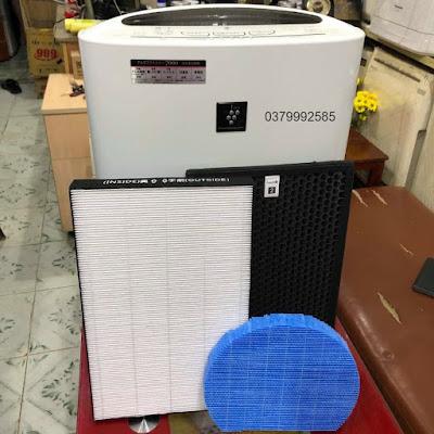 bộ màng lọc máy lọc không khí sharp nội địa nhật