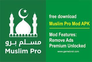Muslim Pro Mod Apk Premium Unlocked