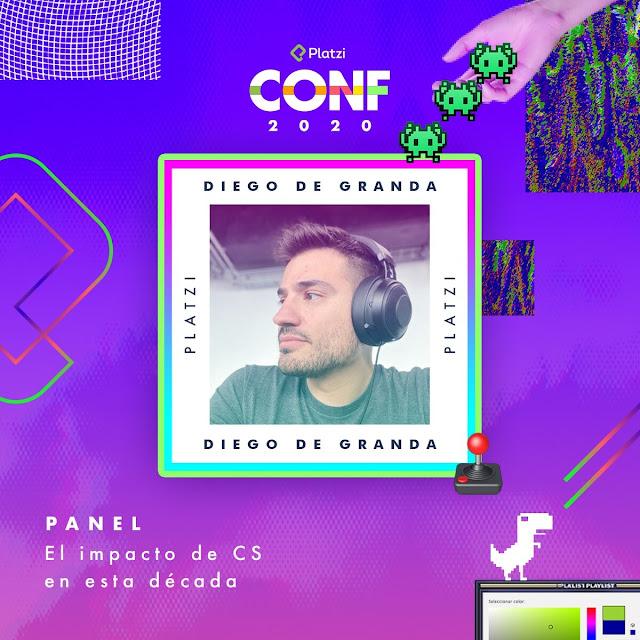 Diego de Grande Platzi Conf