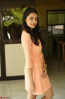 Rukshar Mir in a Peachy Deep Neck Short Dress 123.JPG