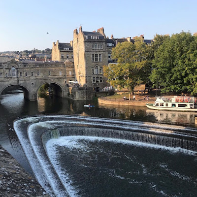 Bath weir and Pultney Bridge