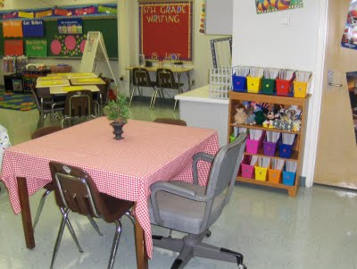 How To Set Up A Classroom Small Group Instruction Area