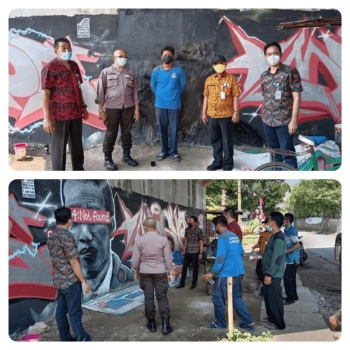 Mural '404: Not Found' Dianggap Hina Jokowi, Benarkah Presiden Lambang Negara?