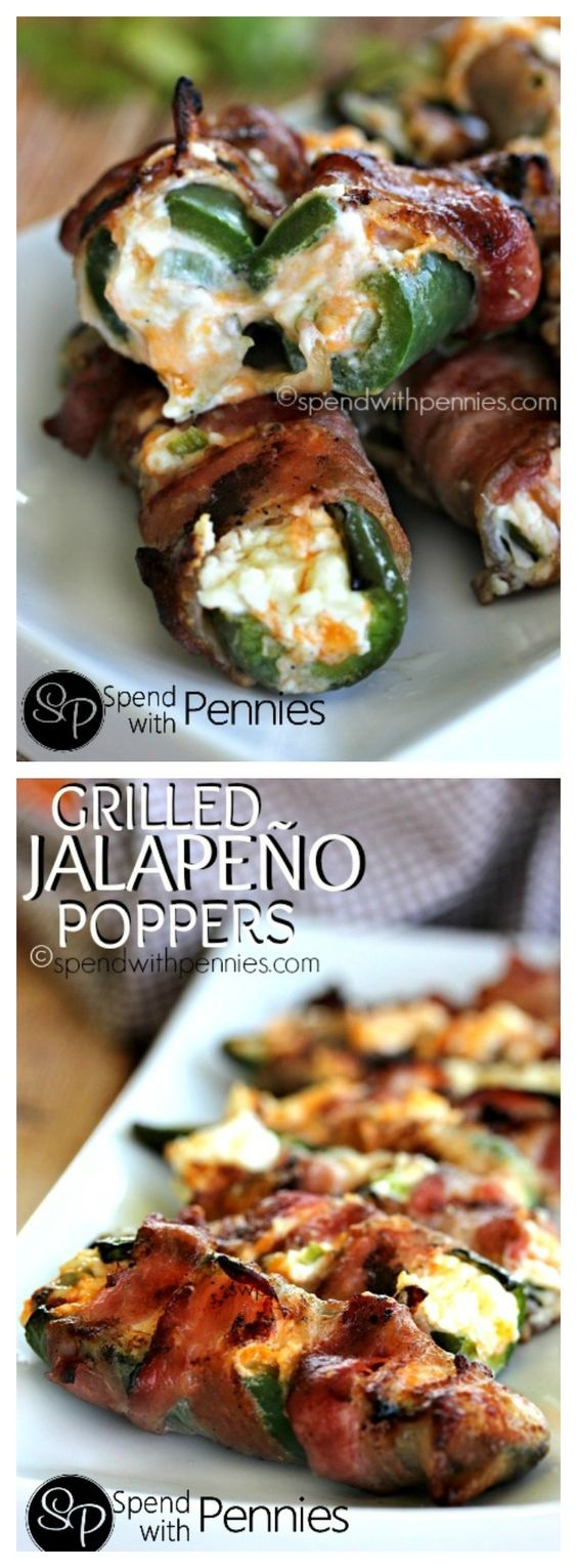 Bacon Wrapped Jalapeno Poppers