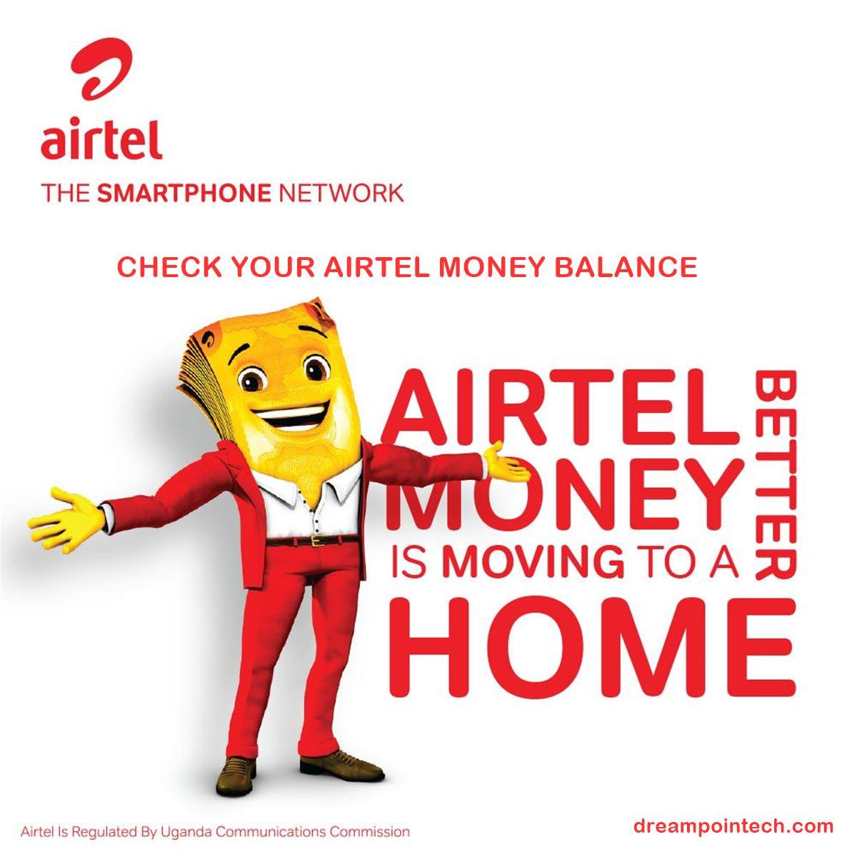 How To Check Airtel Money Balance in Uganda?