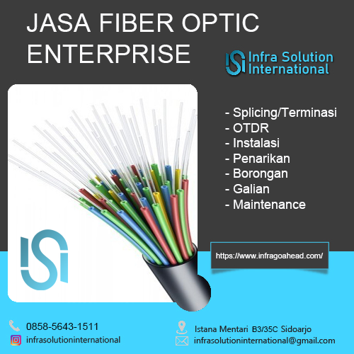 Jasa Splicing Fiber Optic Mojokerto Enterprise