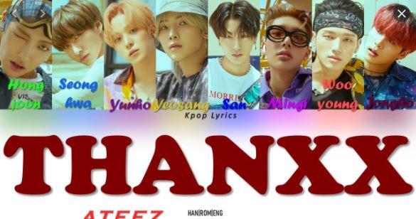 ATEEZ - Thanxx Hangul