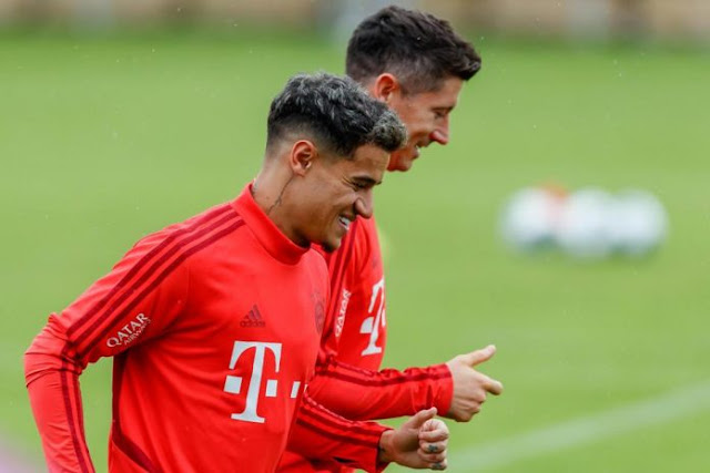 Goalkeeper Pray for Coutinho at Bayern Munich