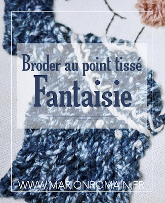 broderie point tissé fantaisie