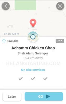 Waze Lokasi Achamm Chicken Chop Jalan Kebun