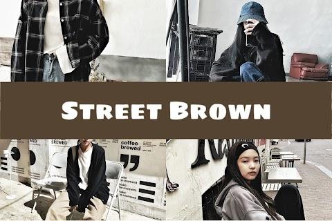 Street Brown Tone แต่งภาพโทนน้ำตาล สตรีทสไตล์ด้วย Snapseed