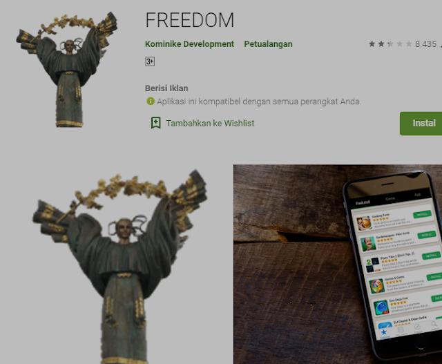 Cara Hack Pembelian Dalam Aplikasi Google Play Store Dengan Aplikasi Untuk Ponsel Yang di Root 2