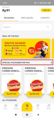Kode Paket Internet Murah Indosat Bulanan 4
