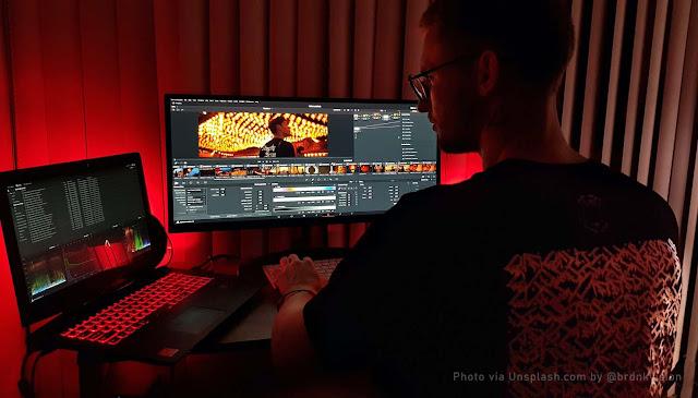 Spesifikasi Laptop Untuk Desain Grafis dan Video Editing Tahun 2021