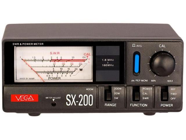 Измеритель мощности и КСВ VEGA SX-200 эффективный инструмент в широком диапазоне полу-профессиональные измерительных и контрольных приборов