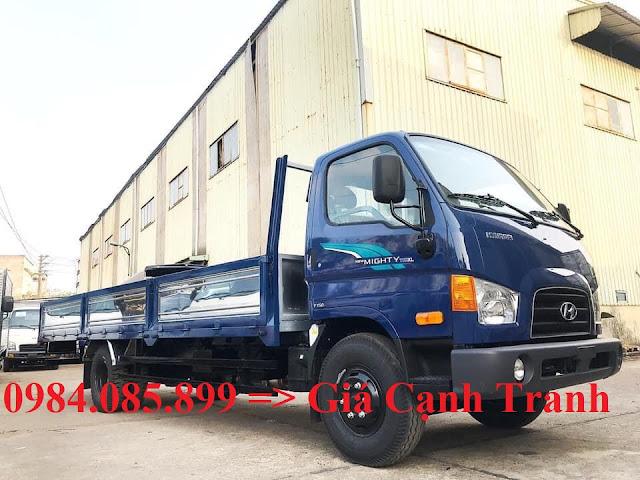 Xe tải Hyundai 7 tấn thùng lửng 6m3