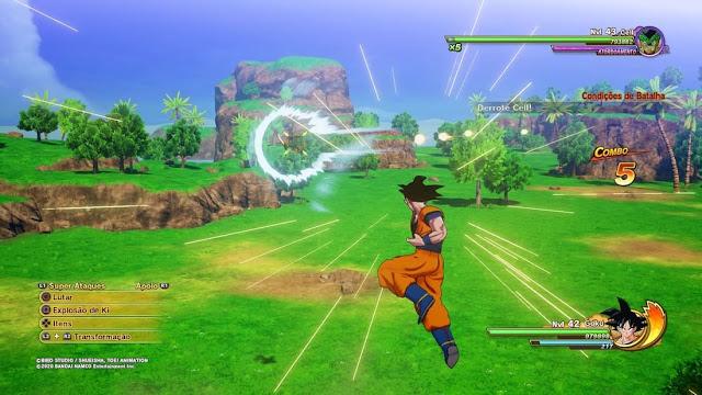 Imagem do Dragon Ball Z: Kakarot