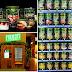 Uma máquina de vending que só vende fruta e saladas