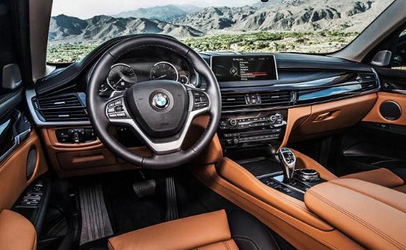 2017 BMW X6 Interior
