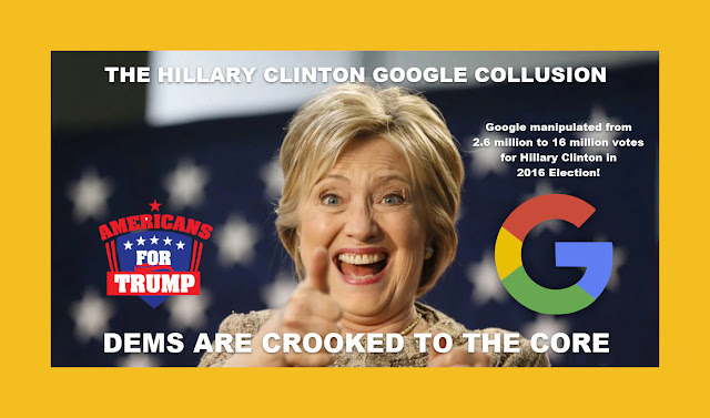 Memes: THE HILLARY CLINTON GOOGLE COLLUSION