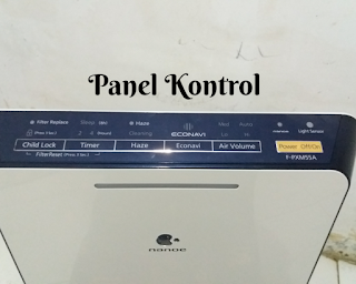 panel kontrol panasonic air purifier