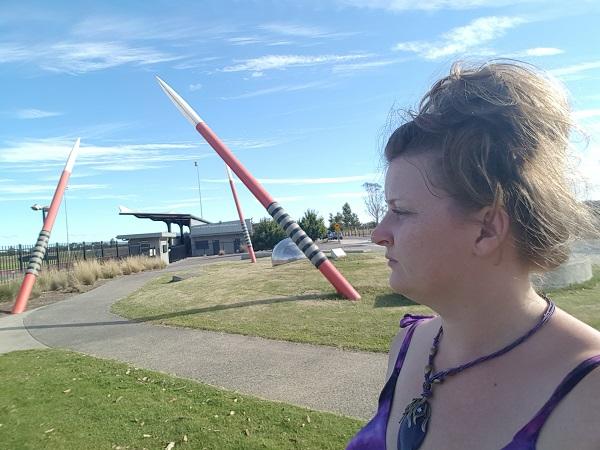 BIG Javelins in Cranbourne   Australian BIG Things