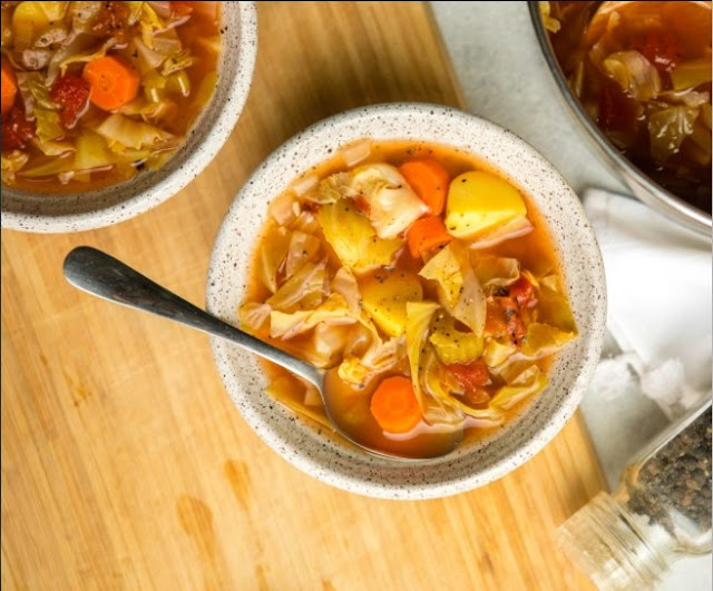 Cabbage Soup #dinner #recipes