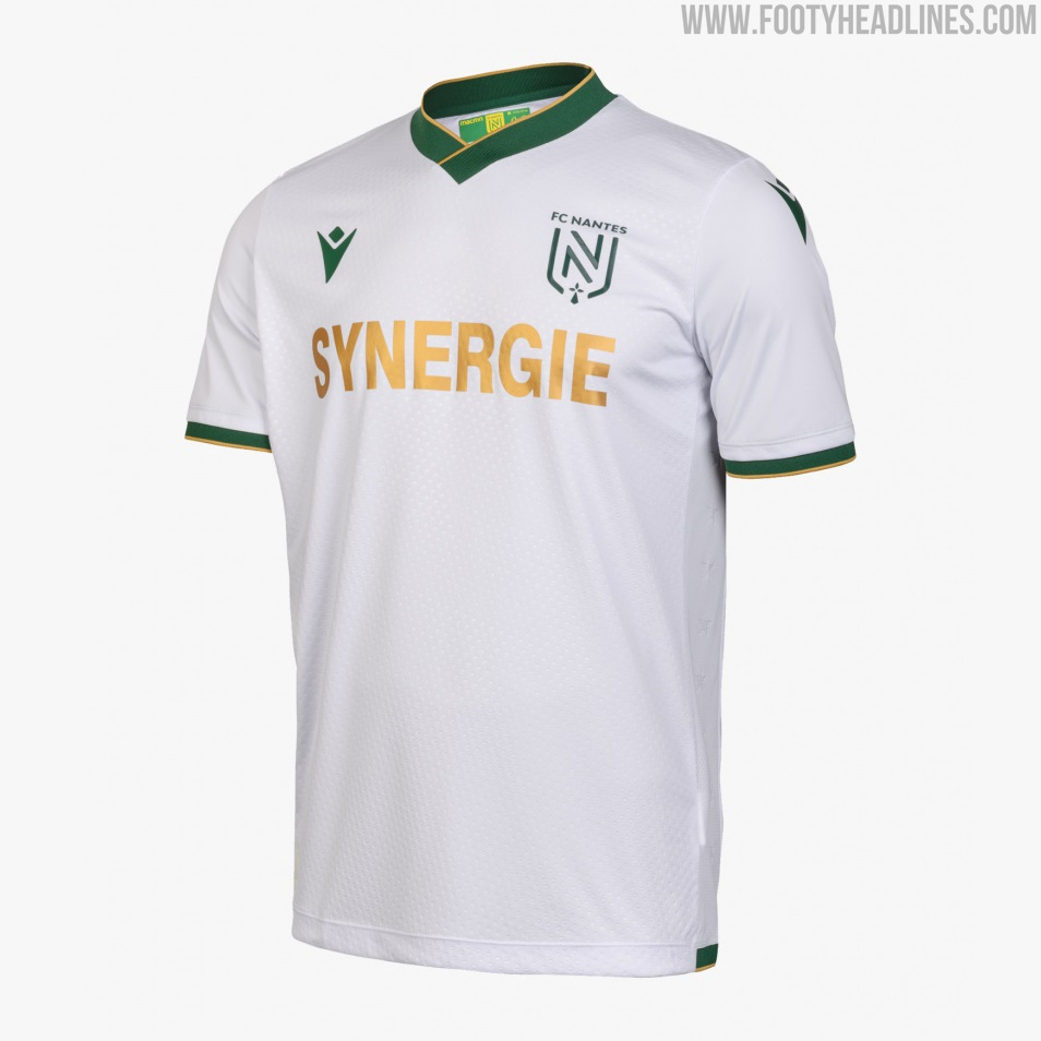 FC Nantes 21-22 Away Kit Released - Footy Headlines