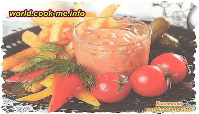 Рецепт острого соуса