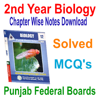 Second Year Biology Objective Type Question Answers For Exams Tests