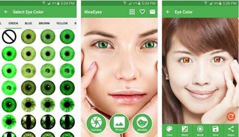 Cara Merubah Warna Mata Menggunakan Aplikasi Android