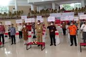 Gubernur Dondokambey Ikuti Peluncuran Bantuan Tunai Se Indonesia Tahun 2021 Virtual Bersama Presiden Jokowi