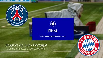 Final PSG vs Bayern