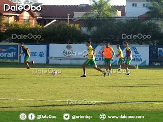 Ronaldo Sánchez vuelve a entrenarse en Oriente Petrolero - DaleOoo