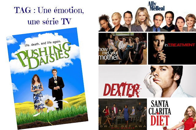 "Mes séries favorites à travers le Tag ""Une émotion = une série TV"""
