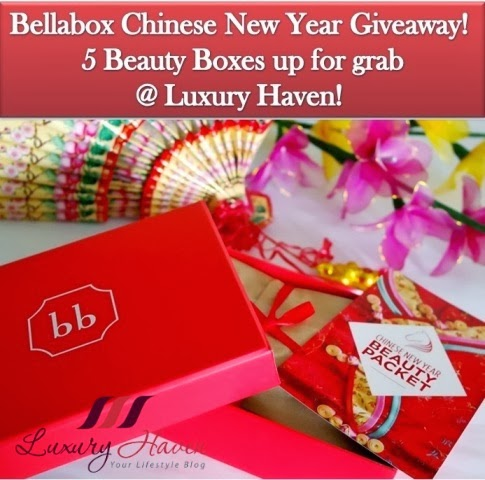 chinese new year beauty bellabox contest