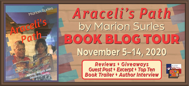 Araceli's Path book blog tour promotion banner