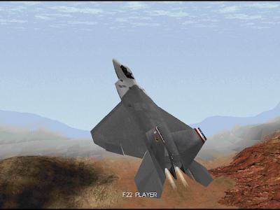 【Dos】F22:雷電2+攻略,擬真猛禽戰鬥機飛行駕駛遊戲!