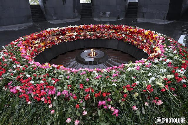 Saludos del mundo: 105 aniversario del Genocidio Armenio