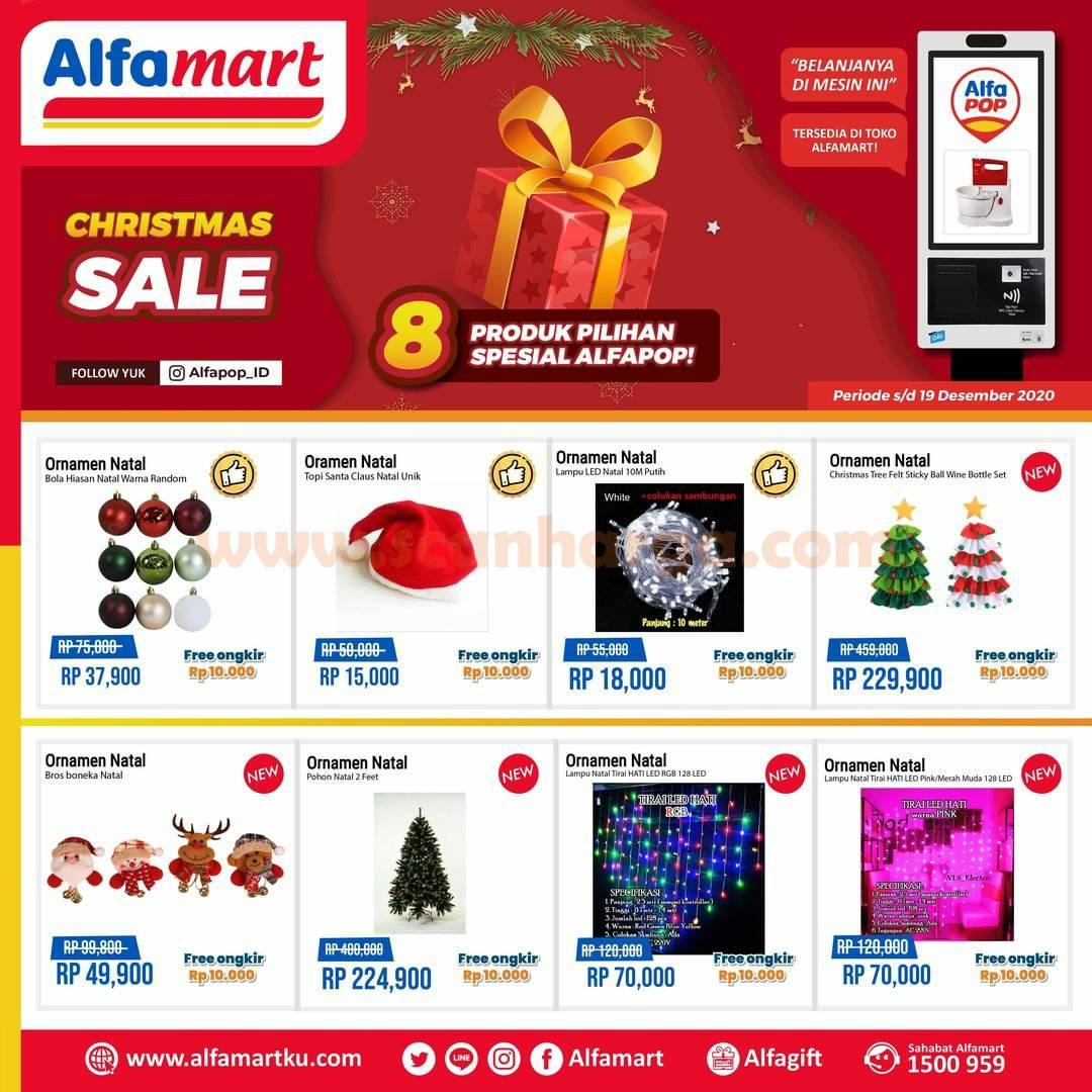 ALFAMART Promo Christmas Sale - 8 Produk Pilihan Spesial AlfaPOP