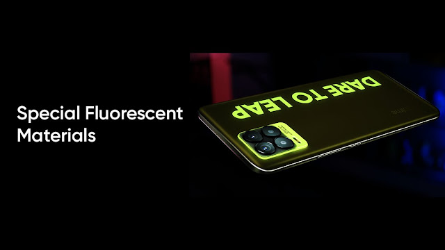 Realme 8 Series Special Fluorescent Material Color