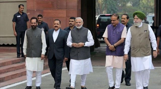 Hindistan Başbakanı Modi, tartışmalı tapınağın temel atma törenine katıldı