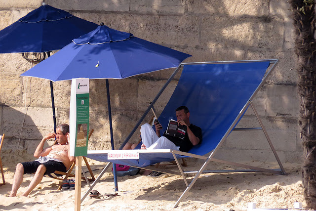 Big beach chair, Paris-Plages, Paris